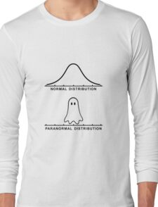 Normal Paranormal Distribution Long Sleeve T-Shirt