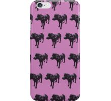 Lavender Lab Pattern iPhone Case/Skin