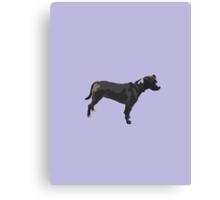 Light Purple Pup Canvas Print