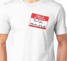 Rose Tyler, defender of Earth Unisex T-Shirt