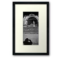 ©MS Portal Shadow IA Monochromatic Framed Print