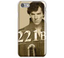 Sherlock 221B iPhone Case/Skin