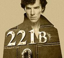 Sherlock 221B by hinomaru17