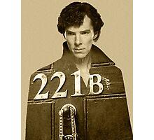 Sherlock 221B Photographic Print