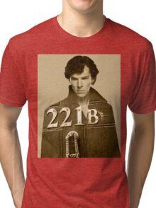 Sherlock 221B Tri-blend T-Shirt