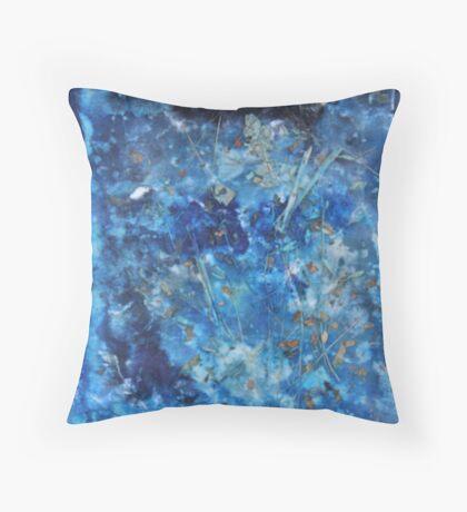 """""""Blue Dream"""" by Carter L. Shepard Throw Pillow"""