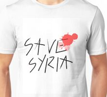 Save Syria Unisex T-Shirt