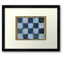"""Plaidscape"" by Carter L. Shepard Framed Print"