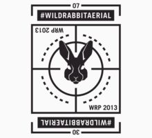 Wild Rabbit Copter Pad Black & White by BiancaFuchs