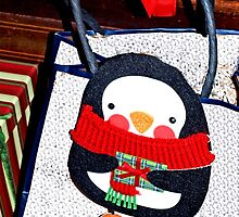 Penguin gift decoration by ♥⊱ B. Randi Bailey