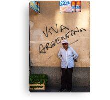 Viva Argentina Canvas Print
