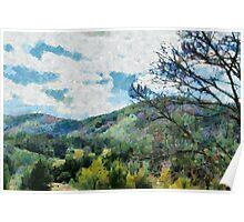 Araluen Valley Views Poster