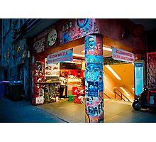 Belgian Waffle Cafe, Flinders St Subway Photographic Print