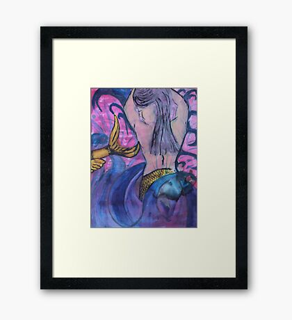 """Water Maid"" by Carter L. Shepard Framed Print"