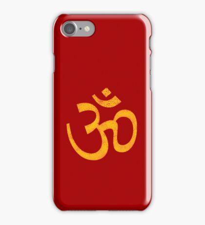 Golden OM iPhone Case/Skin