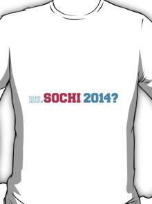 RU. Sochi 2014? T-Shirt