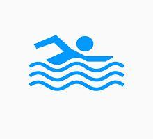 Im Swimming Here Unisex T-Shirt