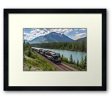 Rocky Mountaineer at Muleshoe Framed Print