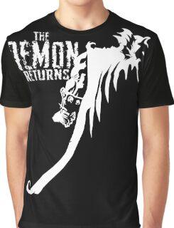The Demon Returns (White) Graphic T-Shirt