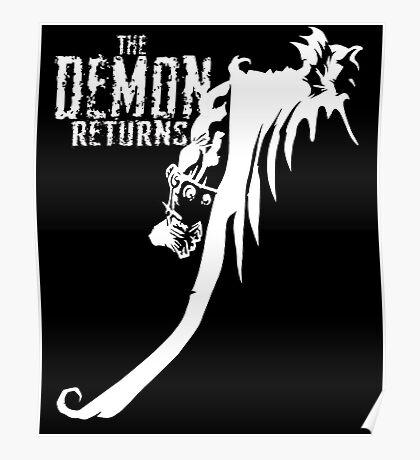 The Demon Returns (White) Poster