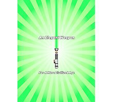 Luke Skywalker's Lightsaber- An Elegant Weapon Photographic Print