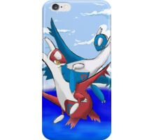 Latias and Latios iPhone Case/Skin