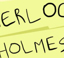 Sherlock Rizla Sticker