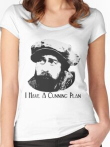 Baldrick - I Have A Cunning Plan Women's Fitted Scoop T-Shirt