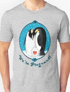 Penguin Parents We're Pregnant T-Shirt