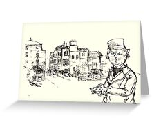 factory owner sir catstly Greeting Card