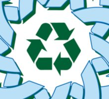 Recycle Knotwork Sticker