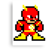 8-bit Flash Canvas Print
