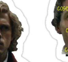 Enjolras and Marius Sticker