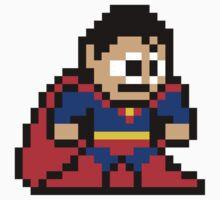 8-bit Superman Kids Clothes
