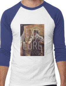 E X P L O R E Men's Baseball ¾ T-Shirt