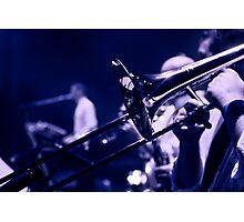Trombone Photographic Print
