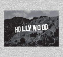Hollywood B&W #1 One Piece - Long Sleeve