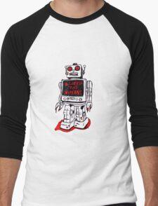 Robot Destroy All Humans Men's Baseball ¾ T-Shirt