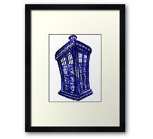 Trippin the Tardis Framed Print