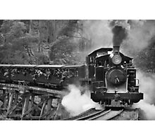 Puffing Billy, Dandenong Ranges, Victoria Photographic Print