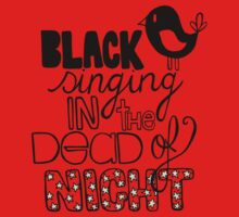 Blackbird Singing in the Dead of Night Kids Clothes