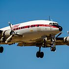 Lockheed Super Constellation by Chris  Randall