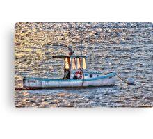 Sea Hunt Sunset Canvas Print