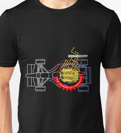 Renault, power of Formula one Unisex T-Shirt