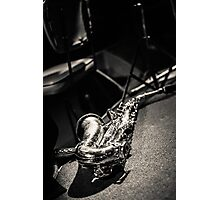 The Lonely Saxophone Photographic Print