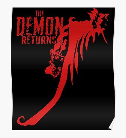 The Demon Returns Poster