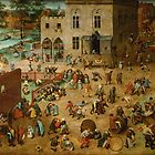 Pieter Bruegel the Elder - Children's Games by TilenHrovatic