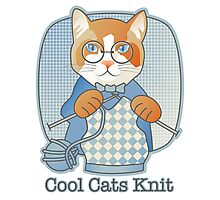 Cool Cats Knit Photographic Print