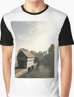 Island Manor House Graphic T-Shirt