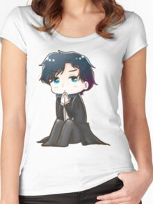 Sherlock in his Mind Palace  Women's Fitted Scoop T-Shirt